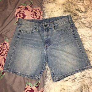 🌊 Calvin Klein Denim Jean Shorts Light Wash 28/6